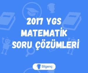 2017 YGS Matematik Soru Çözümleri