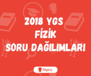 2018 YGS Fizik Soru Dağılımları