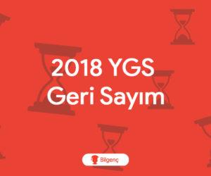 2018 YGS Geri Sayım