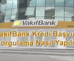 VakıfBank Kredi Sorgulama