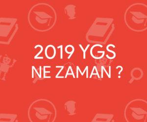 2019 YGS Ne Zaman   2019 YGS Tarihi