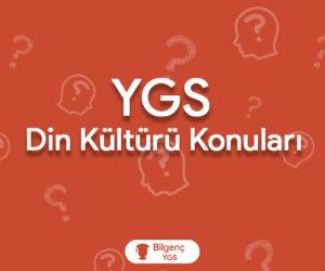2019 YGS Din Kültürü Konuları