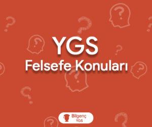 2019 YGS Felsefe Konuları