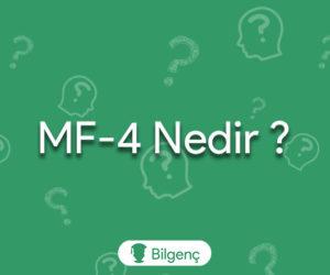 MF-4 Nedir