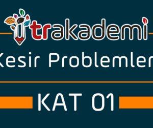Kesir Problemleri Konu Anlatımı ve Soru Çözümleri