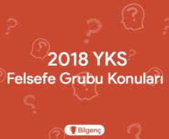 2019 YKS Felsefe Grubu Konuları ve Soru Dağılımı (ÖSYM)