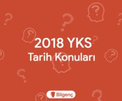 2019 YKS Tarih-1 Konuları ve Soru Dağılımları (ÖSYM)