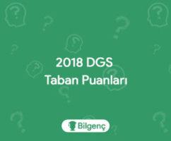 DGS Hava Trafik Kontrol 2018 Taban Puanları ve Sıralamaları