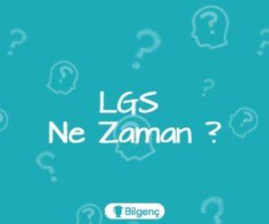 2018 LGS Ne Zaman | LGS Tarihi