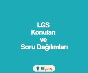 2018 LGS (Liseye Geçiş Sınavı) Konuları ve Soru Dağılımları MEB