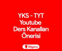 YKS-TYT Youtube Kanal Önerileri