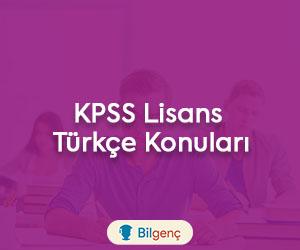 2020 KPSS Lisans Türkçe Konuları ve Soru Dağılımı