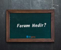 Forum Nedir, Özellikleri