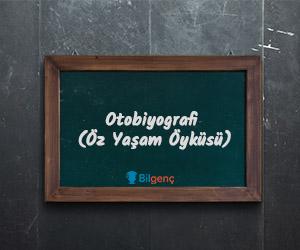 Otobiyografi Nedir Otobiyografinin özellikleri Ve örnekleri Bilgenç