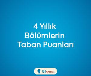Çağdaş Türk Lehçeleri ve Edebiyatları 2018 Taban Puanları