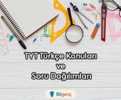 2019 TYT Türkçe Konuları ve Soru Dağılımları (ÖSYM)