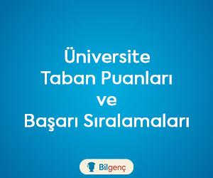 Abdullah Gül Üniversitesi (Kayseri) 2018 Taban Puanları ve Başarı Sıralamaları