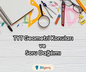 2020 TYT Geometri Konuları ve Soru Dağılımı (ÖSYM)