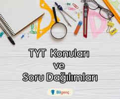 2019 TYT Konuları ve Soru Dağılımları (ÖSYM)