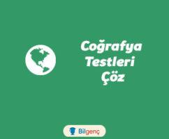 Dünyanın Şekli ve Hareketleri Konu Testi | Online Test Çöz