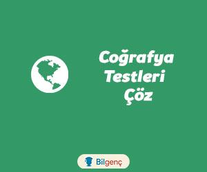 Harita Bilgisi Konu Testi | Online Test Çöz