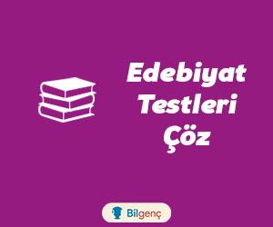 Söz Sanatları Test | Edebi Sanatlar Test | Online Test Çöz