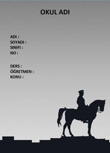 Atatürk Ödev Kapağı-1