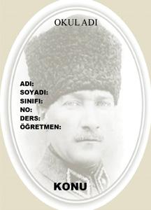 Atatürk Ödev Kapağı-5
