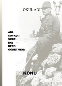 Atatürk Ödev Kapağı-7