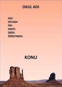 Coğrafya Ödev Kapağı Resmi-7