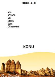 Coğrafya Ödev Kapağı Resmi-8