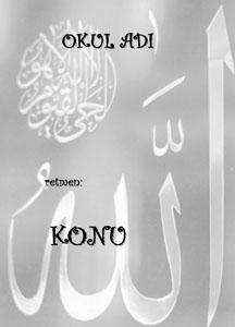 Din Kültürü Ödev Kapağı Resmi-4