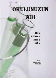 Fen Bilimleri Ödev Kapağı Resmi-1