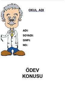 Fen Bilimleri Ödev Kapağı Resmi-2