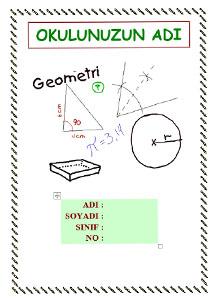 Matematik Ödev Kapağı Resmi-2