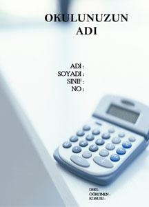 Matematik Ödev Kapağı Resmi-7