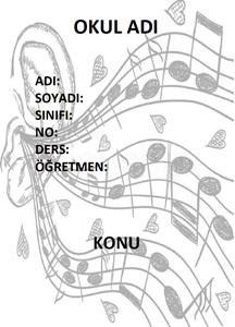 Müzik Ödev Kapağı Resmi-2