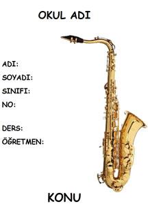 Müzik Ödev Kapağı Resmi-4