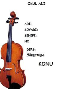 Müzik Ödev Kapağı Resmi-5