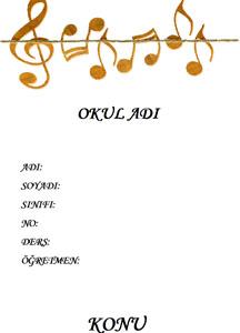 Müzik Ödev Kapağı Resmi-6