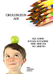 Türkçe Ödev Kapağı Resmi-7