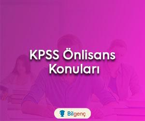 2022 KPSS Önlisans Konuları ve Soru Dağılımı (ÖSYM)