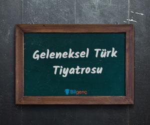 Geleneksel Türk Tiyatrosu Türleri ve Özellikleri