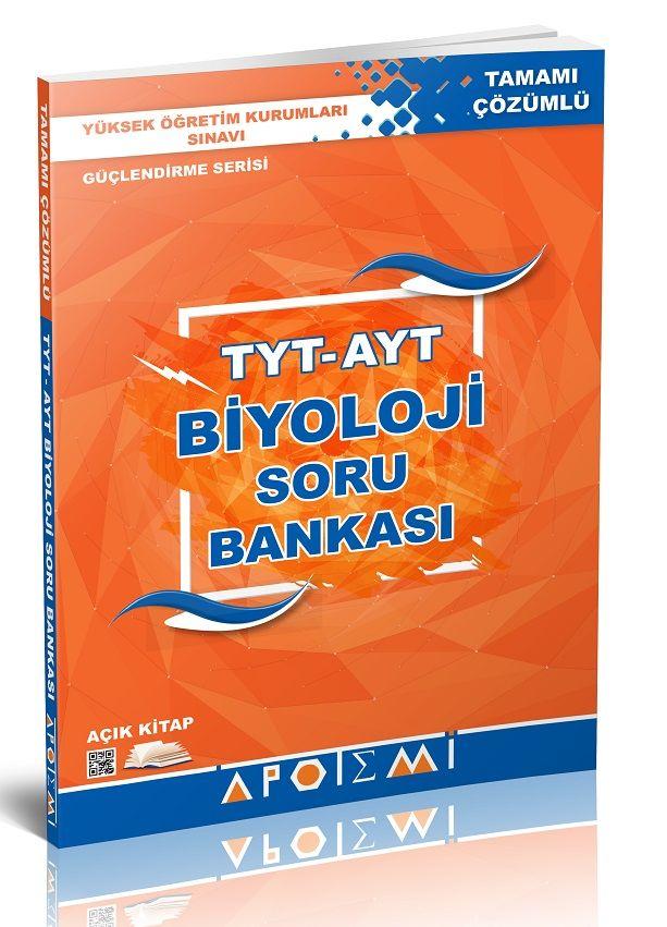 Apotemi Yayınları TYT-AYT Biyoloji Soru Bankası Önerisi