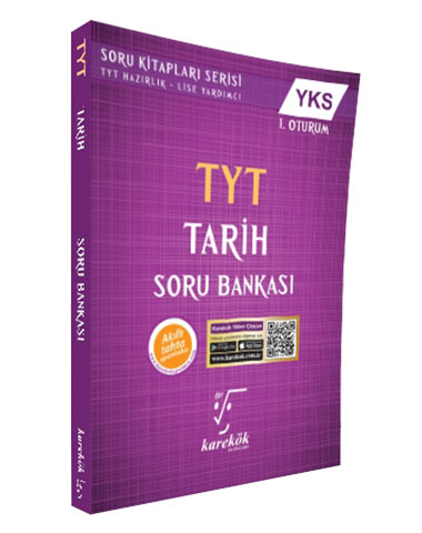 Karekök Yayınları TYT Tarih Soru Bankası Önerisi