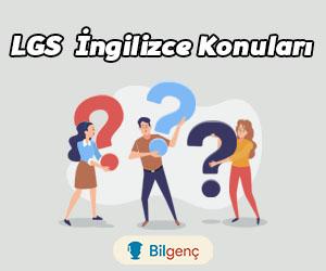 2021 LGS İngilizce Konuları ve Soru Dağılımı MEB