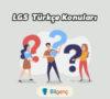 2020 LGS Türkçe Konuları ve Soru Dağılımı MEB
