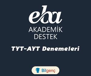 EBA Akademik Destek TYT-AYT Denemeleri (PDF) MEB